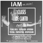 CLASES ONLINE DE CANTO